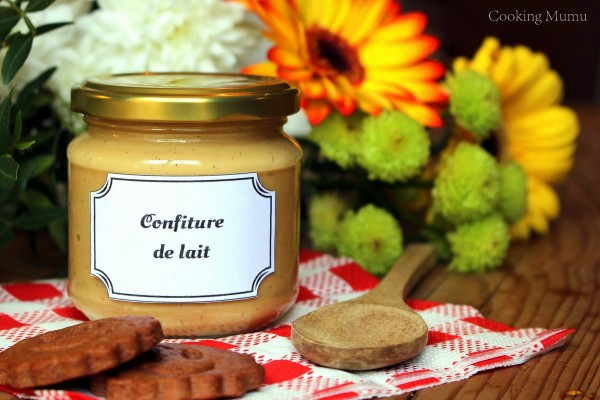 Un pot de confiture de lait