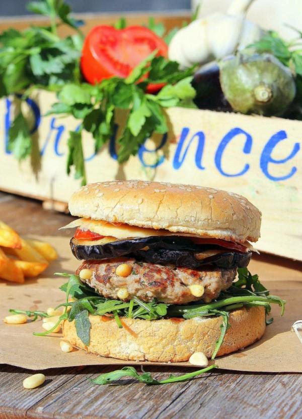 Burger provençal