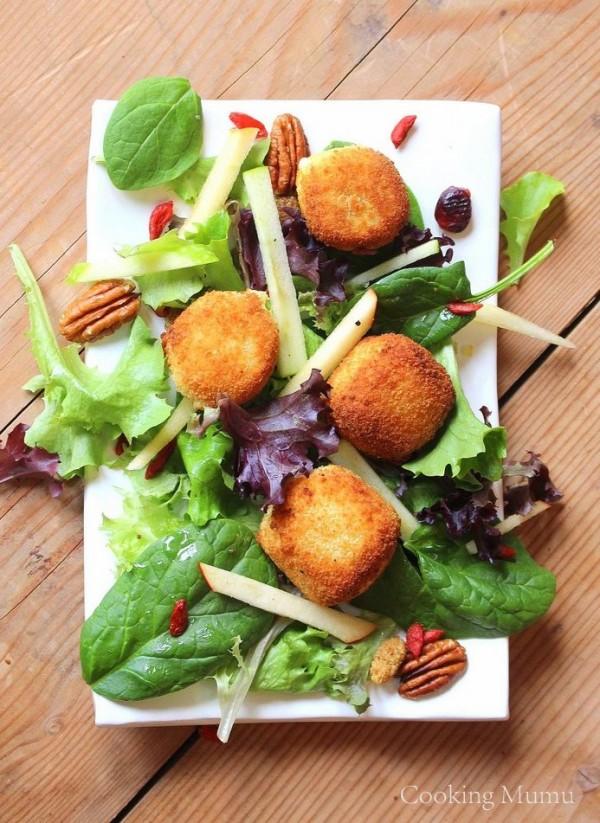 Salade au reblochon