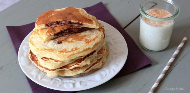 Pancakes Fourres Au Nutella