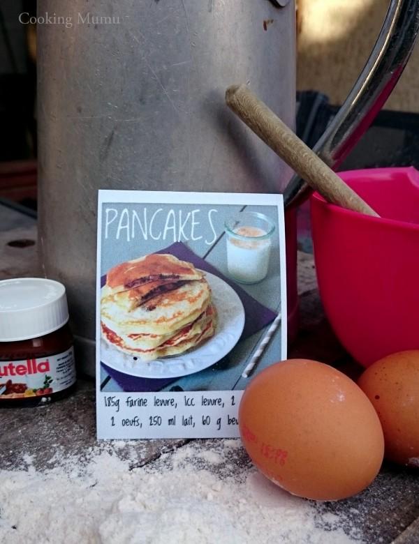 Pancakes sur aimants