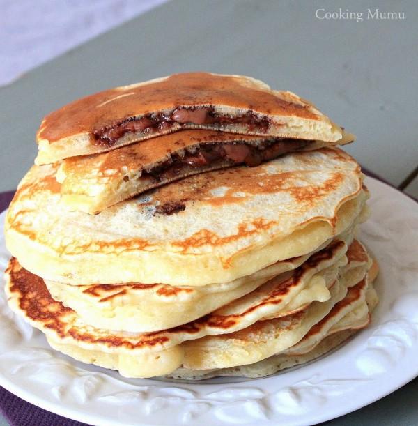 Recette gateau fourre au nutella home baking for you - Recette gateau au nutella ...