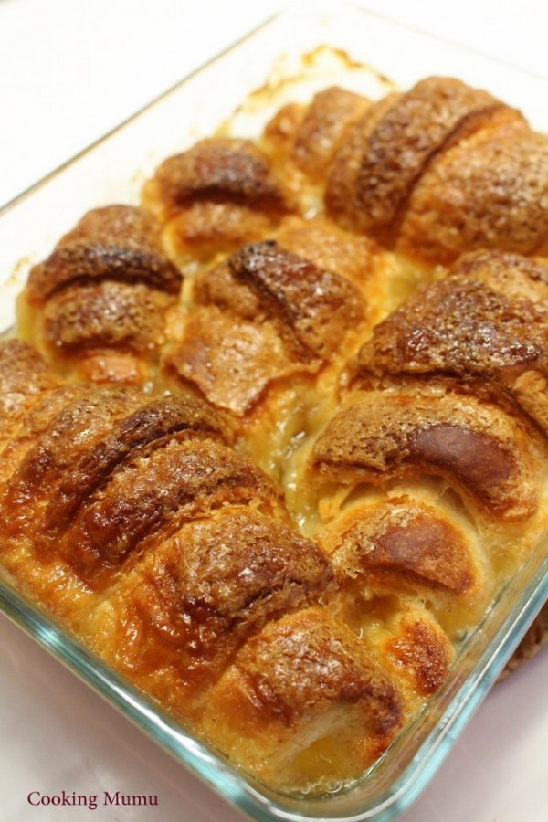 Croissants caramel