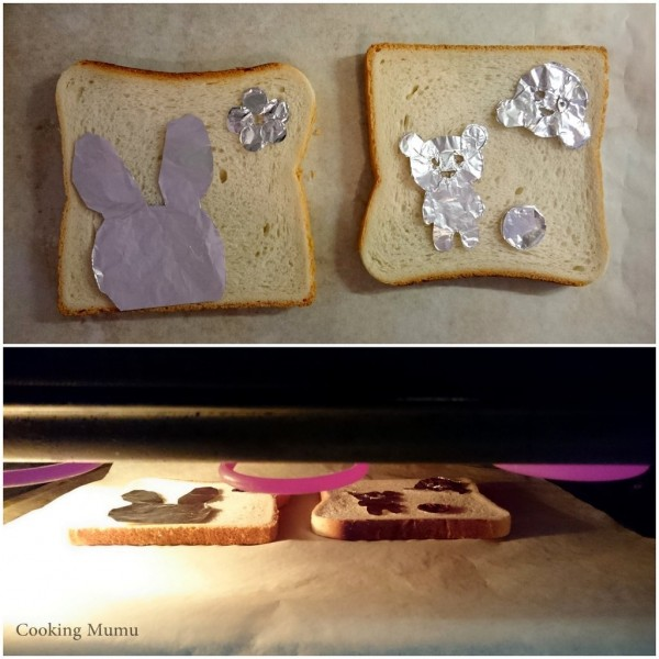 Impression sur toasts