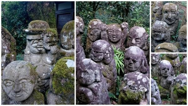 Statues Otagi nembutsu-ji