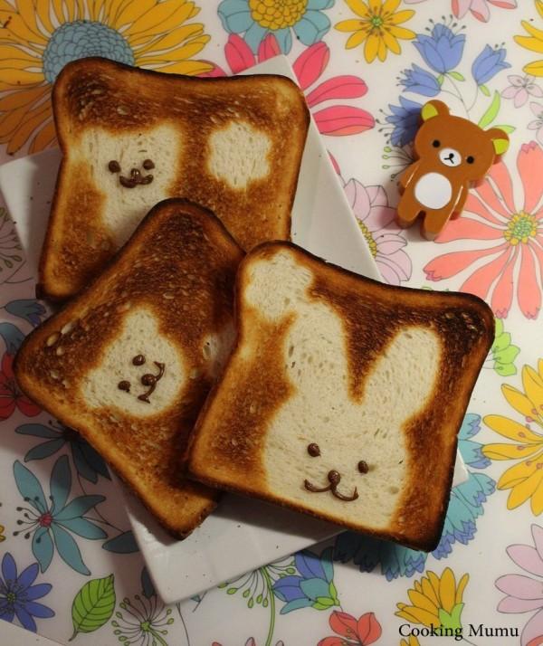 Toasts rigolos