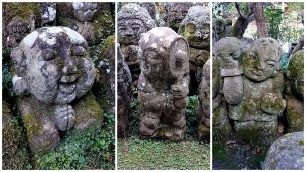 Otagi nembutsu-ji statues