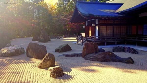Jardin zen Kongobu-ji