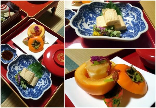 Repas végétarien koya san