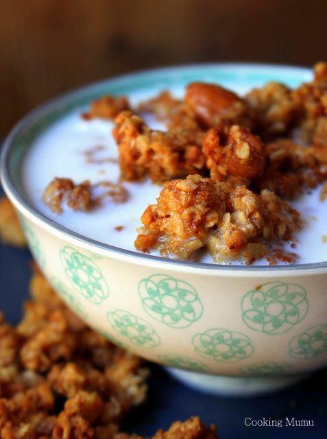 granola-miel-amandes