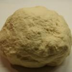 Boule de pâte à naan
