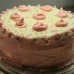 Le pudding à l'arsenic, gâteau à étage banane chocolat