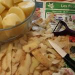 Pelures de patates