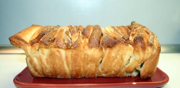 Pull apart bread - la brioche à effeuiller