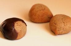 Sablés à la farine de châtaignes